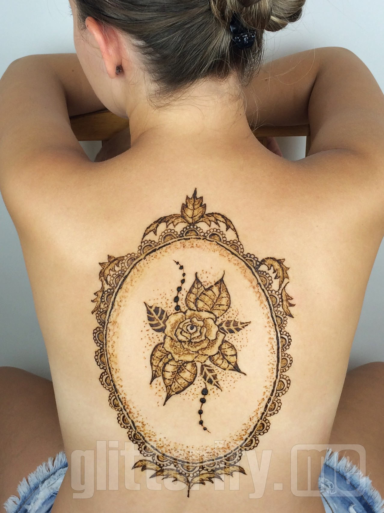 Henna Body Art Images